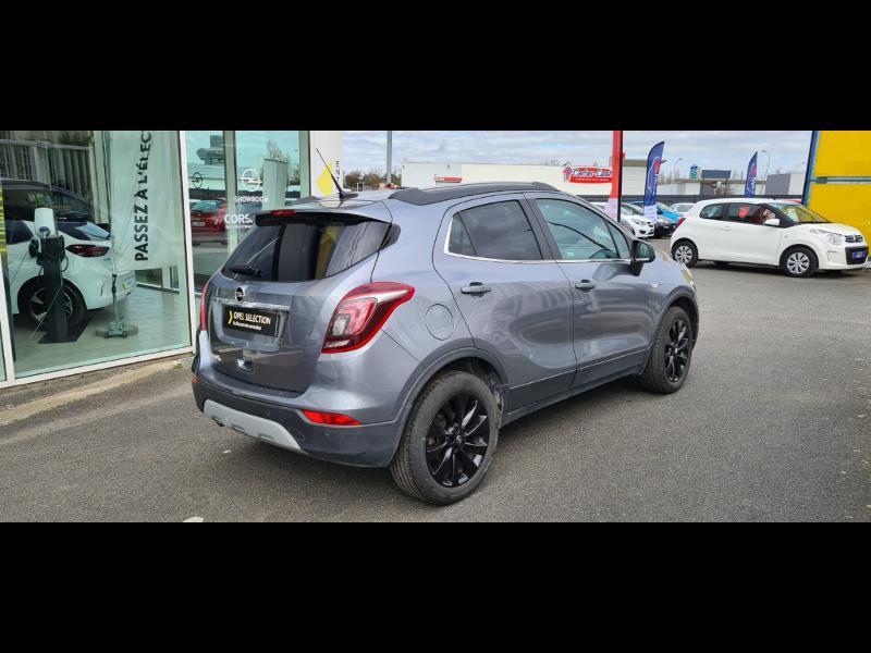 Opel Mokka X 1.6 D 136ch BlueInjection Black Edition 4x2 Gris occasion à Vert-Saint-Denis - photo n°6
