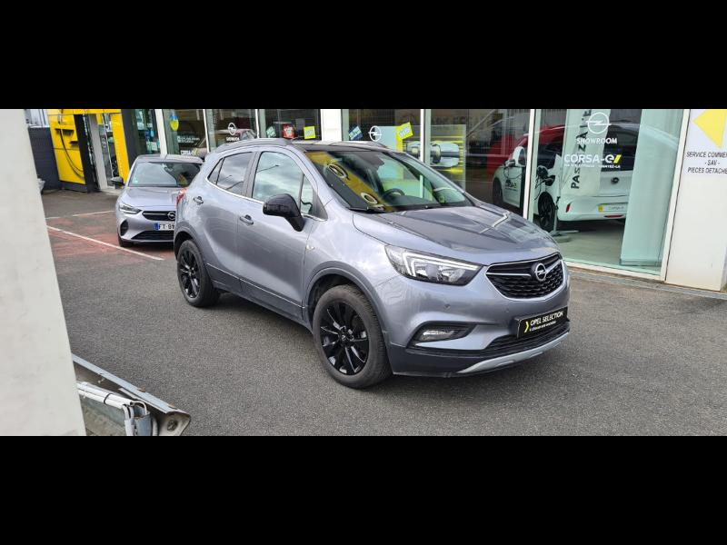 Opel Mokka X 1.6 D 136ch BlueInjection Black Edition 4x2 Gris occasion à Vert-Saint-Denis