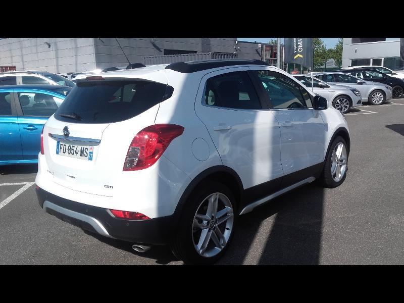 Opel Mokka X 1.6 D 136ch BlueInjection Midnight Edition 4x2 Blanc occasion à Samoreau - photo n°2