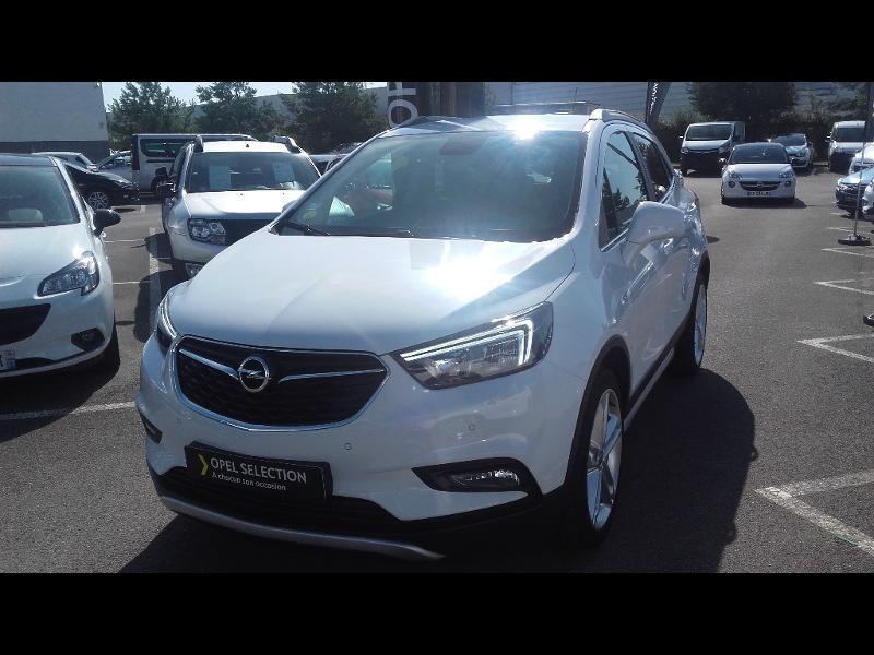 Opel Mokka X 1.6 D 136ch BlueInjection Midnight Edition 4x2 Blanc occasion à Samoreau