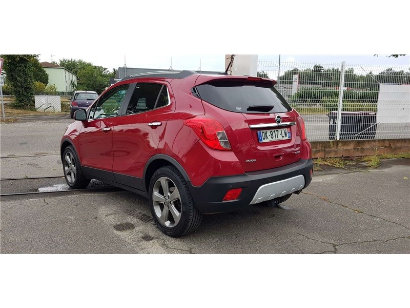 Opel Mokka 1.4 TURBO - 140 CH 4X2 START&STOP Cosmo Pack Rouge occasion à Muret - photo n°3