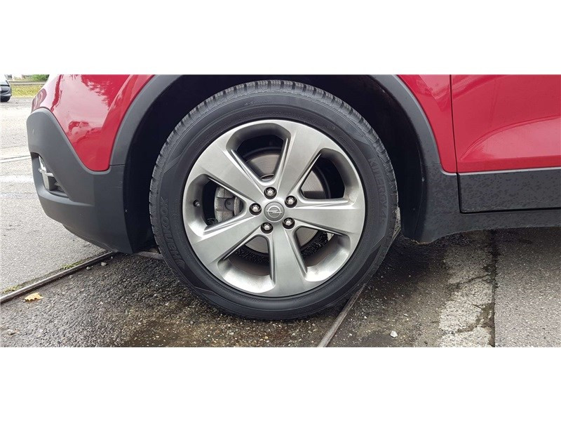 Opel Mokka 1.4 TURBO - 140 CH 4X2 START&STOP Cosmo Pack Rouge occasion à Muret - photo n°7