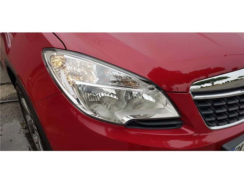 Opel Mokka 1.4 TURBO - 140 CH 4X2 START&STOP Cosmo Pack Rouge occasion à Muret - photo n°10