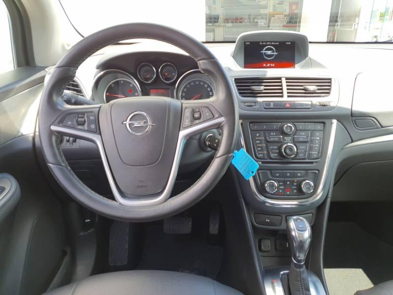 Opel Mokka 1.6 CDTI - 136 ch FAP 4x2 Cosmo A Gris occasion à Libourne - photo n°8