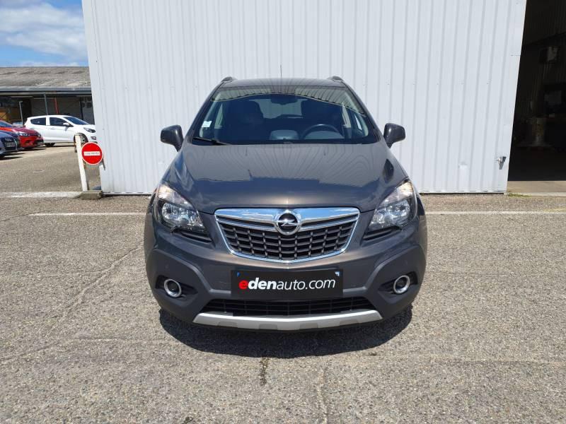 Opel Mokka 1.6 CDTI - 136 ch FAP 4x2 Cosmo A Gris occasion à Libourne - photo n°2