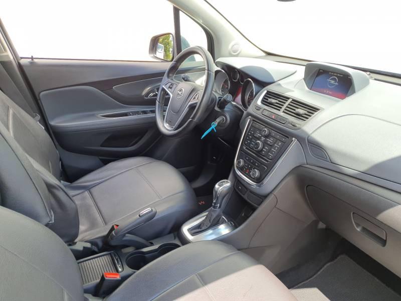 Opel Mokka 1.6 CDTI - 136 ch FAP 4x2 Cosmo A Gris occasion à Libourne - photo n°9