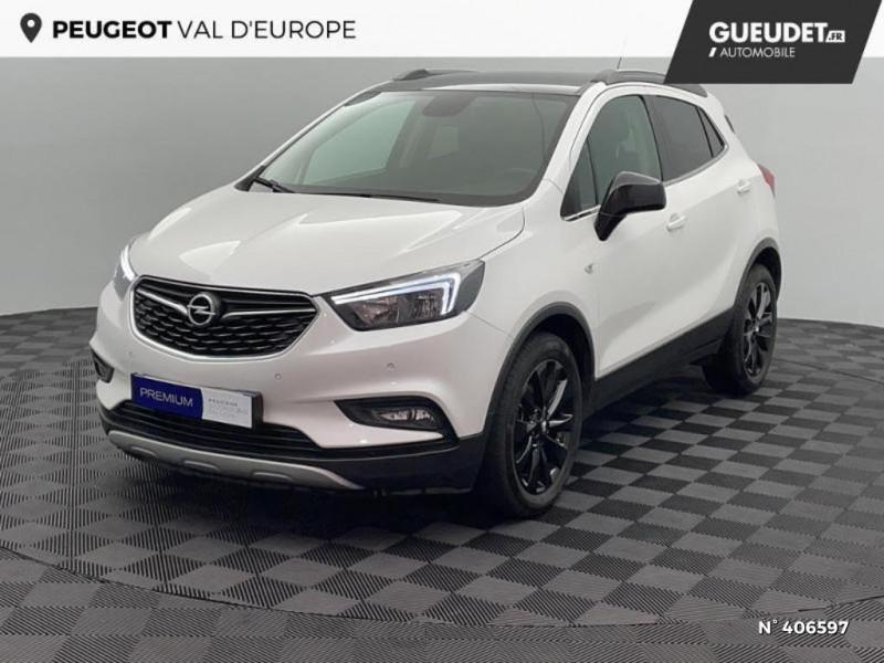 Opel Mokka 1.6 CDTI 136ch Color Edition ecoFLEX Start&Stop 4x2 Blanc occasion à Montévrain - photo n°16