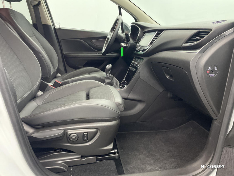 Opel Mokka 1.6 CDTI 136ch Color Edition ecoFLEX Start&Stop 4x2 Blanc occasion à Montévrain - photo n°4