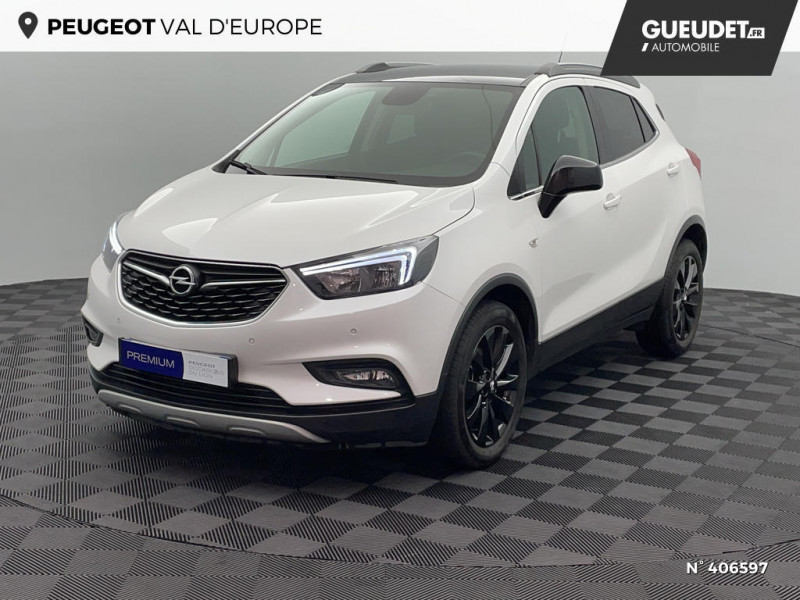 Opel Mokka 1.6 CDTI 136ch Color Edition ecoFLEX Start&Stop 4x2 Blanc occasion à Montévrain