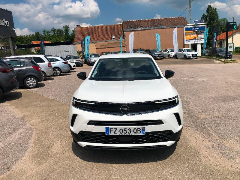 Opel Mokka EDITION 5P 1.5 Diesel 110ch BVM6 (2021C) Blanc occasion à Auxerre - photo n°6