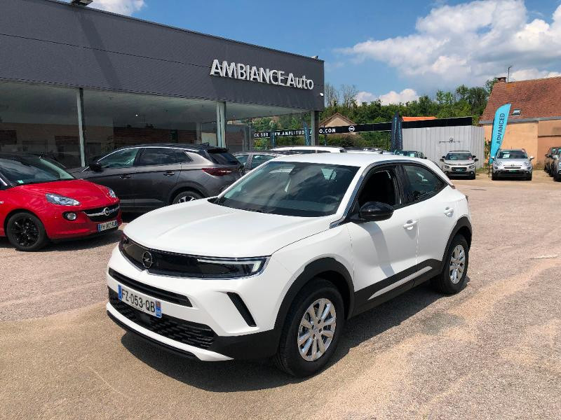 Opel Mokka EDITION 5P 1.5 Diesel 110ch BVM6 (2021C) Blanc occasion à Auxerre