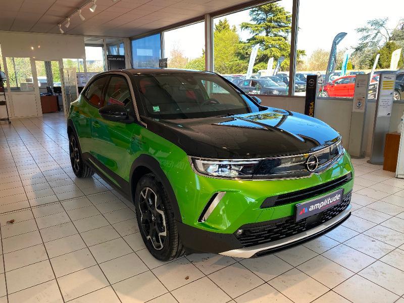 Opel Mokka Mokka-e 136ch Ultimate Vert occasion à Meaux - photo n°4