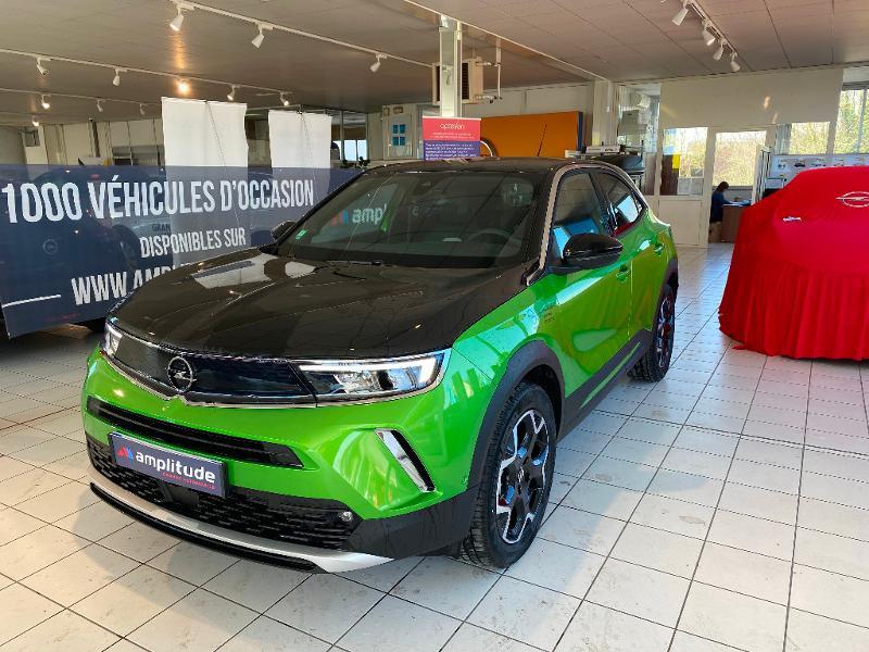 Opel Mokka Mokka-e 136ch Ultimate Vert occasion à Meaux