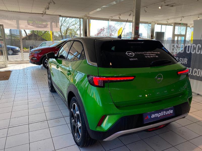 Opel Mokka Mokka-e 136ch Ultimate Vert occasion à Meaux - photo n°8