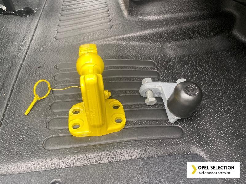 Opel Movano RJ3500 L3 2.3 CDTI 145ch BiTurbo Start/Stop Blanc occasion à CASTRES - photo n°15