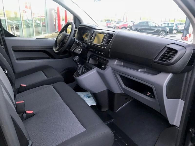 Opel Vivaro combi L3 1.5 D 120ch Standard Noir occasion à Vert-Saint-Denis - photo n°9