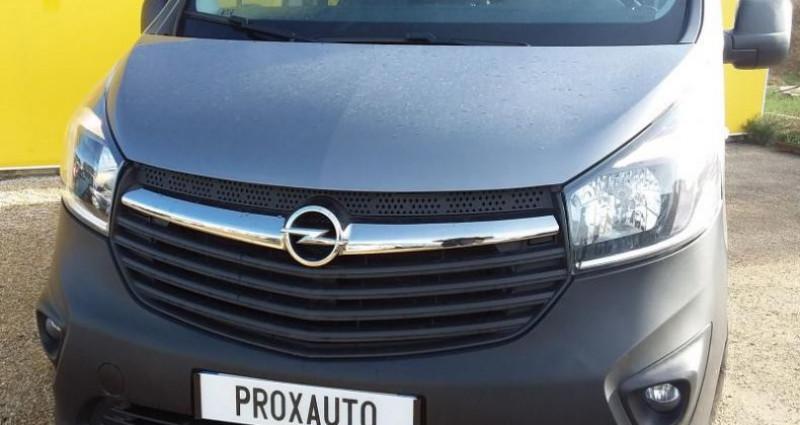 Opel Vivaro COMBI K2900 L2H1 1.6 CDTI 125 ch Bi-Turbo ecoFlex S/S Pack C Gris occasion à Fontenay-le-vicomte - photo n°2