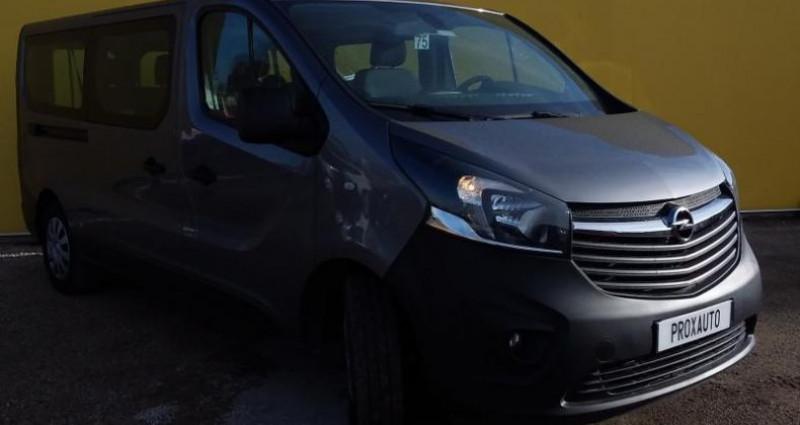 Opel Vivaro COMBI K2900 L2H1 1.6 CDTI 125 ch Bi-Turbo ecoFlex S/S Pack C Gris occasion à Fontenay-le-vicomte - photo n°3
