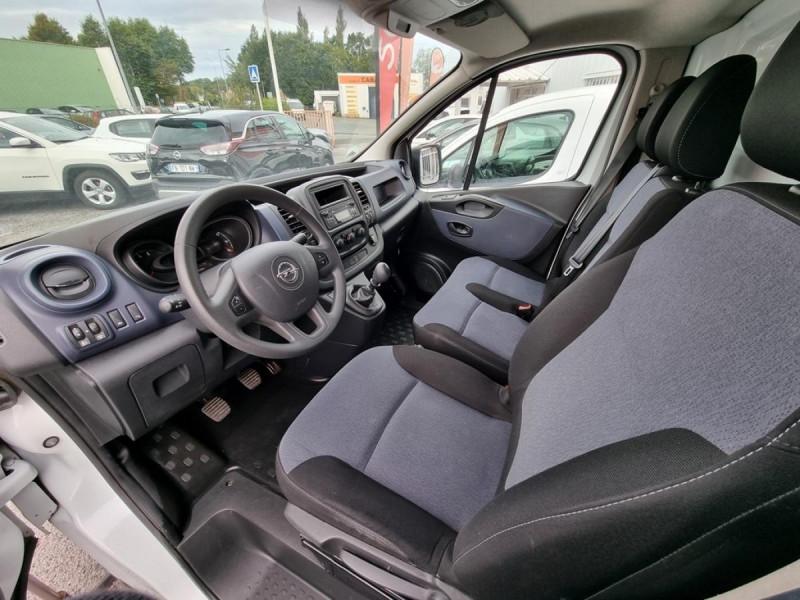 Opel Vivaro L2H1 2900 1.6 CDTI 120 Pack Clim + Blanc occasion à Arcangues - photo n°5