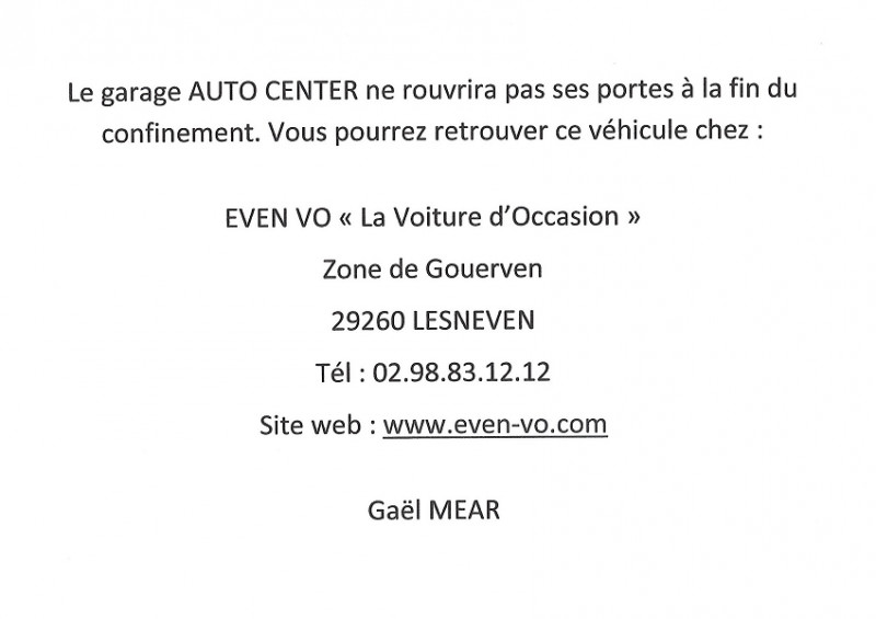 Opel Zafira 1.6 CDTI 134CH BLUEINJECTION BUSINESS EDITION Blanc occasion à Plougastel-Daoulas - photo n°3