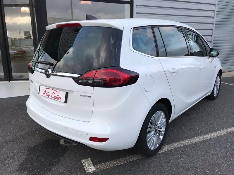 Opel Zafira 1.6 CDTI 134CH BLUEINJECTION BUSINESS EDITION Blanc occasion à Plougastel-Daoulas - photo n°2