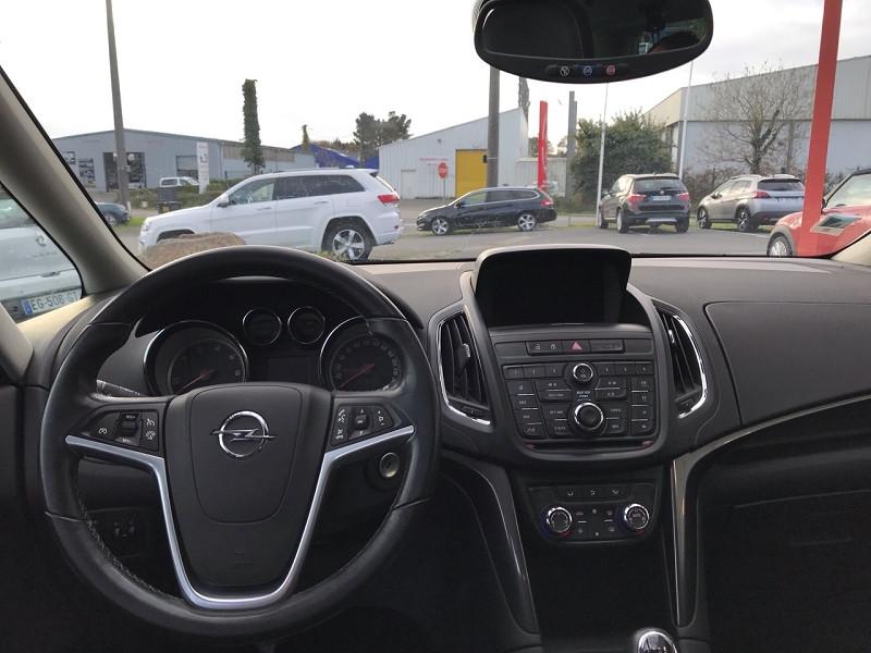 Opel Zafira 1.6 CDTI 134CH BLUEINJECTION BUSINESS EDITION Blanc occasion à Plougastel-Daoulas - photo n°7
