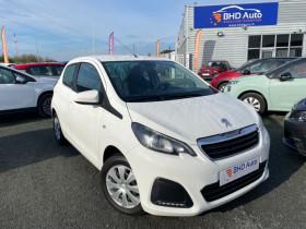 Peugeot 108 Blanc, garage BHD AUTO à Biganos
