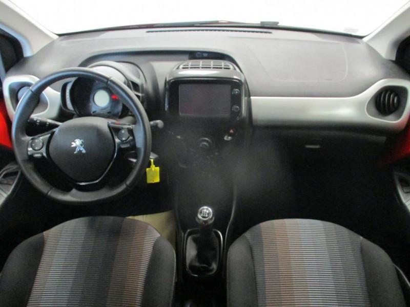 Peugeot 108 1.2 VTi 82ch BVM5 Allure TOP! Rouge occasion à CHERBOURG-EN-COTENTIN - photo n°7