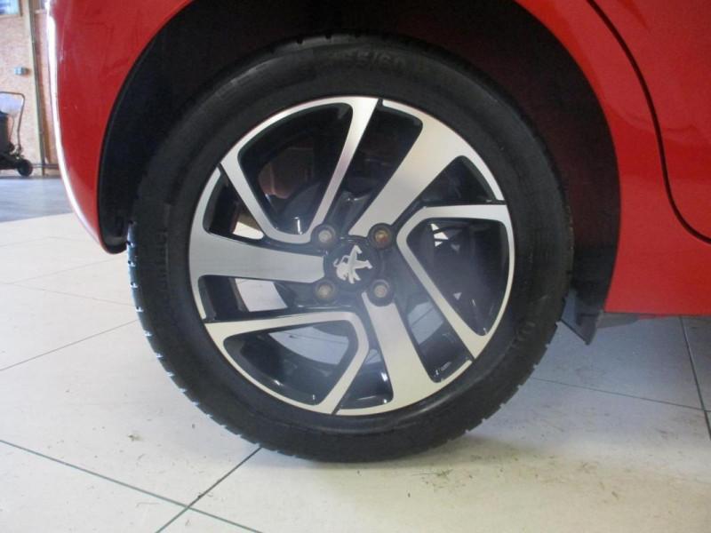 Peugeot 108 1.2 VTi 82ch BVM5 Allure TOP! Rouge occasion à CHERBOURG-EN-COTENTIN - photo n°5