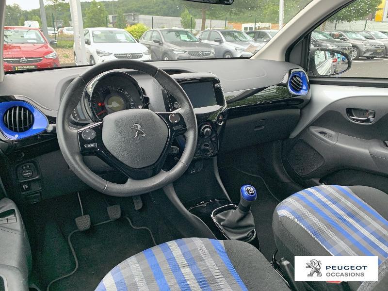 Peugeot 108 VTi 72 Collection 5p Gris occasion à CASTRES - photo n°8