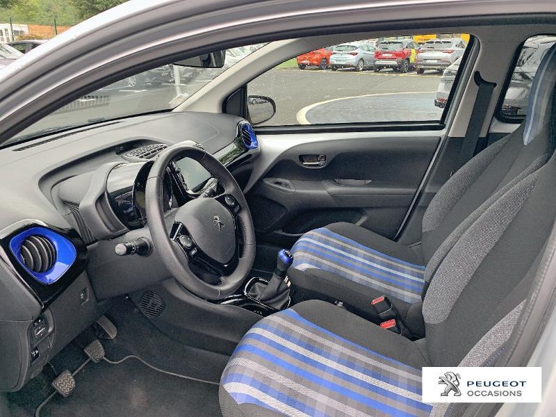 Peugeot 108 VTi 72 Collection 5p Gris occasion à CASTRES - photo n°9