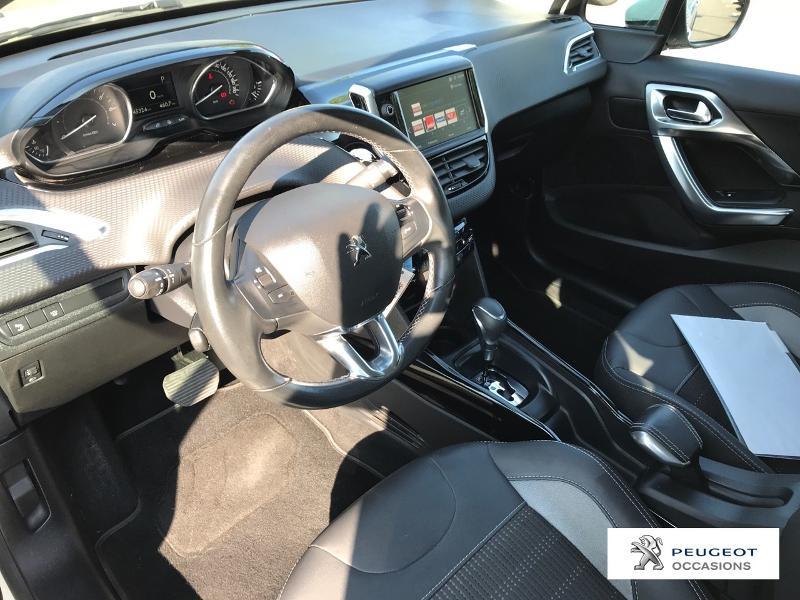 Peugeot 2008 1.2 PureTech 110ch Allure S&S EAT6 Blanc occasion à MAZAMET - photo n°8