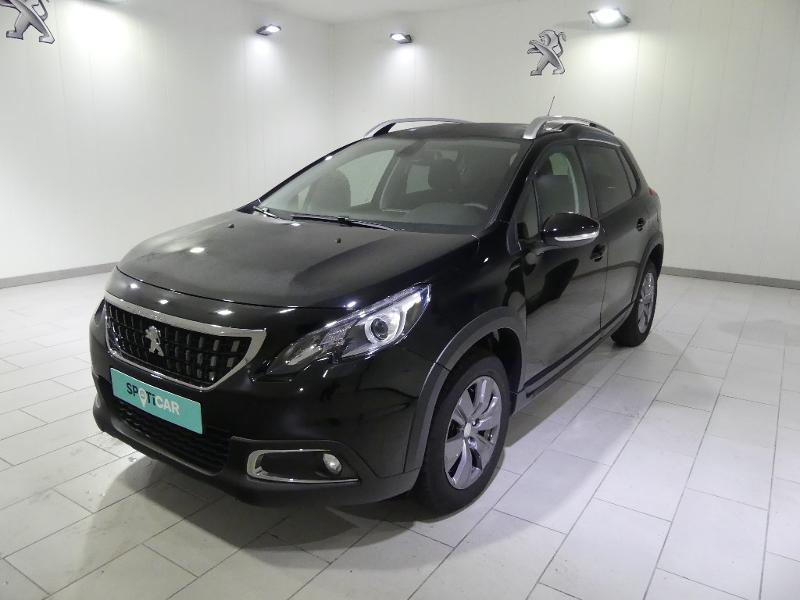 Peugeot 2008 1.2 PureTech 110ch E6.c Signature S&S Noir occasion à Quimper