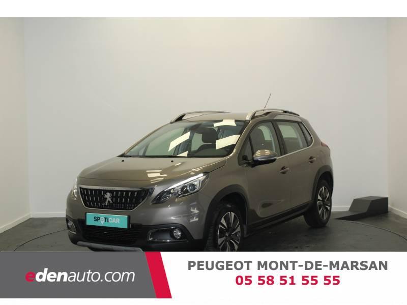 Peugeot 2008 1.2 PureTech 110ch S&S BVM5 Allure Gris occasion à Saint-Pierre-du-Mont