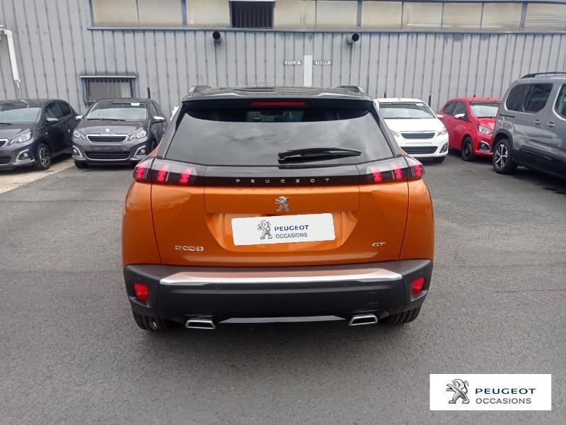 Peugeot 2008 1.2 PureTech 130ch S&S GT Orange occasion à Albi - photo n°6