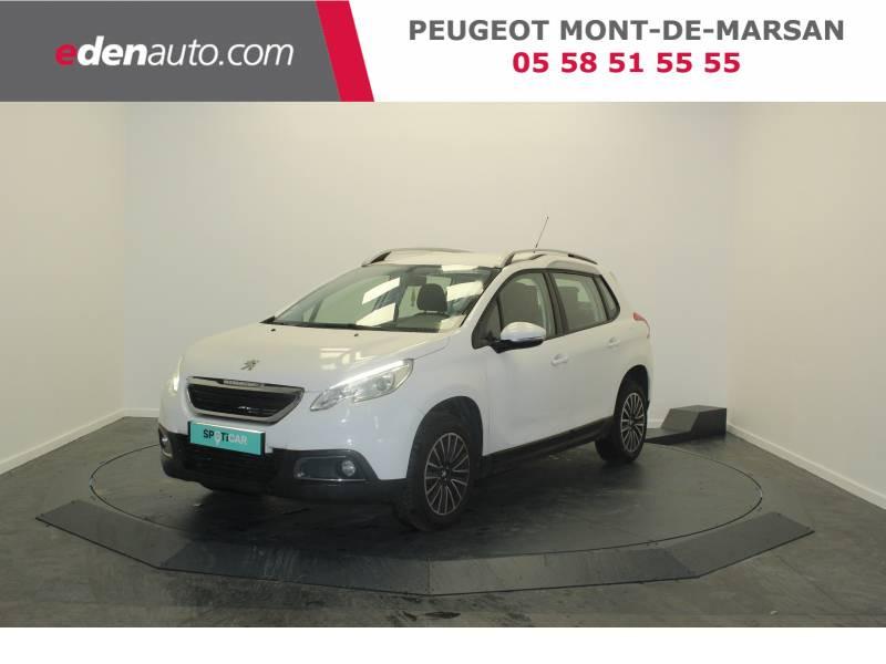 Peugeot 2008 1.2 PureTech 82ch BVM5 Active Blanc occasion à Saint Pierre du Mont