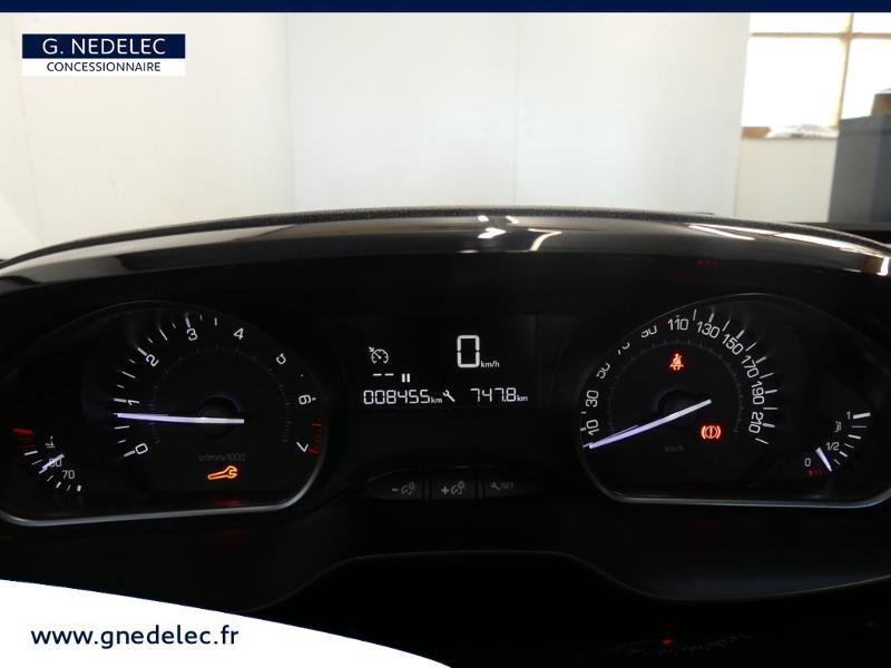 Peugeot 2008 1.2 PureTech 82ch E6.c Active Business Rouge occasion à Concarneau - photo n°7