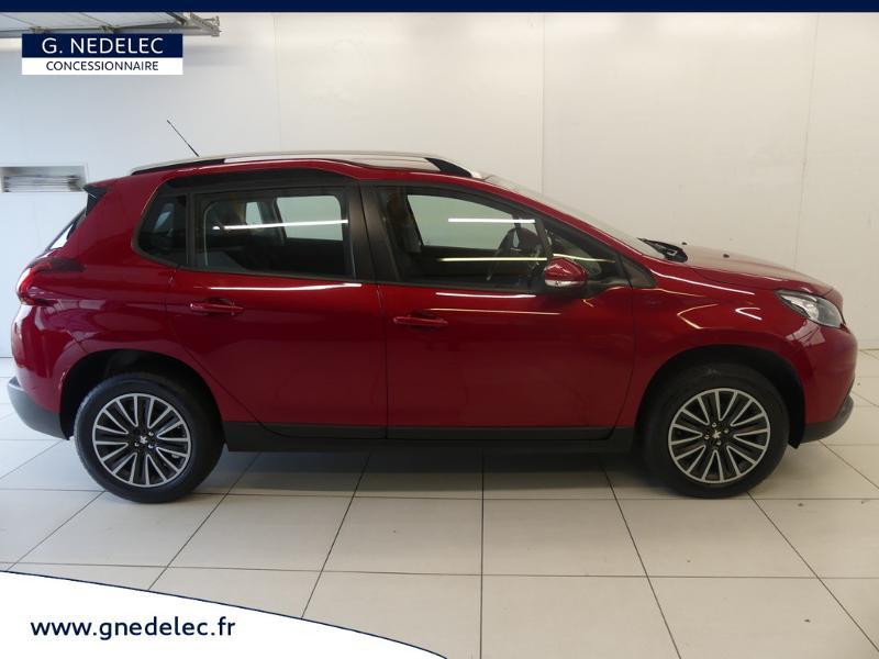 Peugeot 2008 1.2 PureTech 82ch E6.c Active Business Rouge occasion à Concarneau - photo n°4