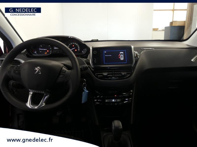Peugeot 2008 1.2 PureTech 82ch E6.c Active Business Rouge occasion à Concarneau - photo n°5