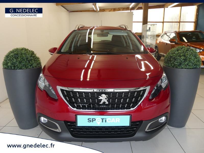 Peugeot 2008 1.2 PureTech 82ch E6.c Active Business Rouge occasion à Concarneau - photo n°2