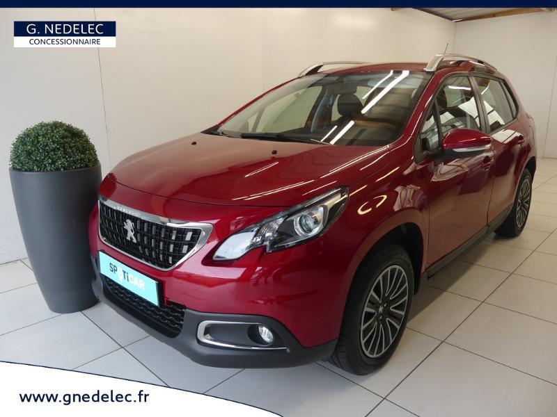 Peugeot 2008 1.2 PureTech 82ch E6.c Active Business Rouge occasion à Concarneau