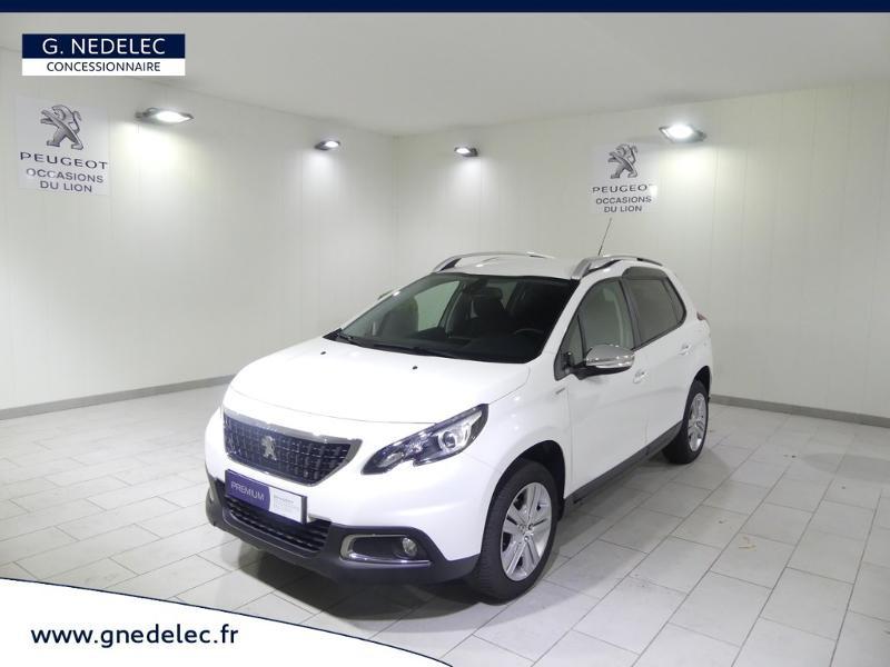 Peugeot 2008 1.2 PureTech 82ch Style Blanc occasion à Quimper