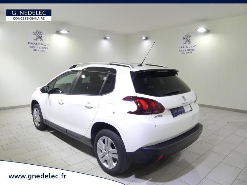Peugeot 2008 1.2 PureTech 82ch Style Blanc occasion à Quimper - photo n°7