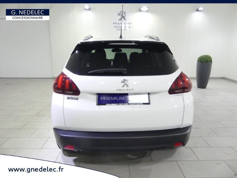 Peugeot 2008 1.2 PureTech 82ch Style Blanc occasion à Quimper - photo n°5