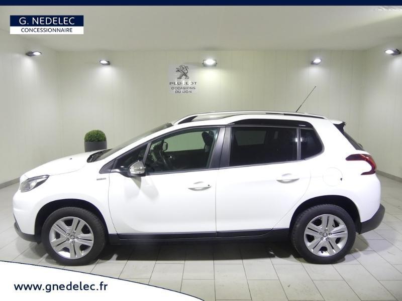 Peugeot 2008 1.2 PureTech 82ch Style Blanc occasion à Quimper - photo n°4