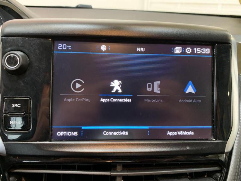 Peugeot 2008 1.2i PureTech 12V 82 CH Style Blanc occasion à Lormont - photo n°5