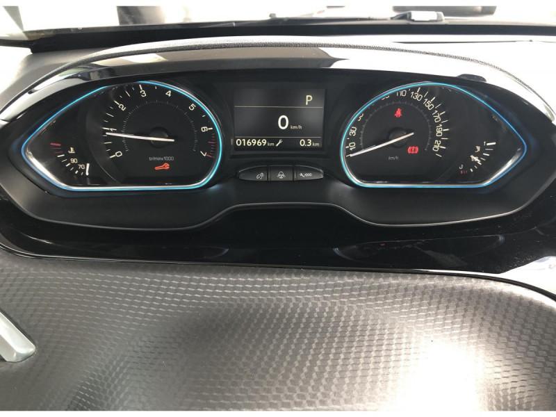 Peugeot 2008 1.2i PureTech 12V S&S - 110 - BV EAT6 - E6.c  Allure PHASE 2 Noir occasion à Ganges - photo n°6