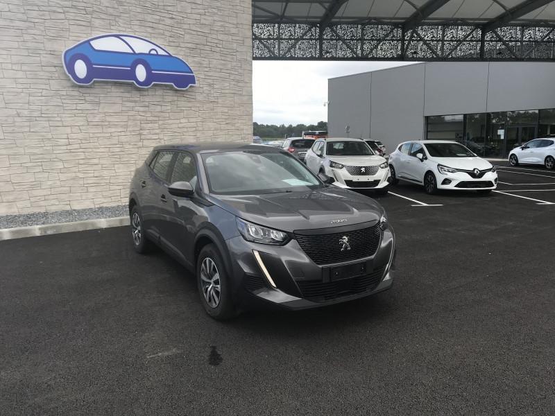 Peugeot 2008 1.5 BLUEHDI 100CH S&S ACTIVE Gris occasion à Serres-Castet - photo n°7