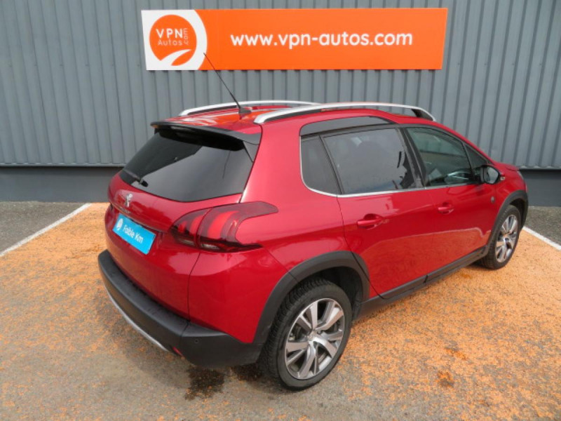 Peugeot 2008 1.5 BlueHDi S&S - 120 - BV EAT6  Crossway PHASE 2 Rouge occasion à Labège - photo n°3