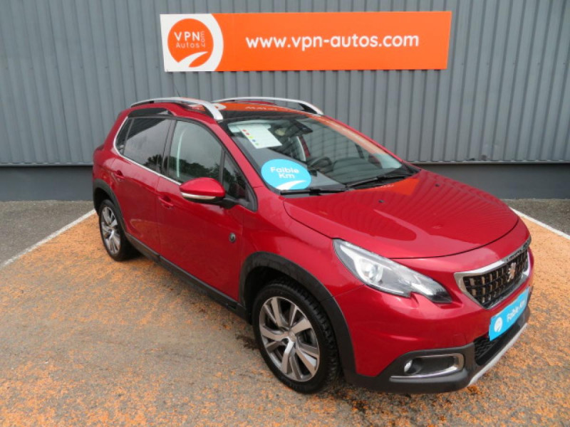 Peugeot 2008 1.5 BlueHDi S&S - 120 - BV EAT6  Crossway PHASE 2 Rouge occasion à Labège